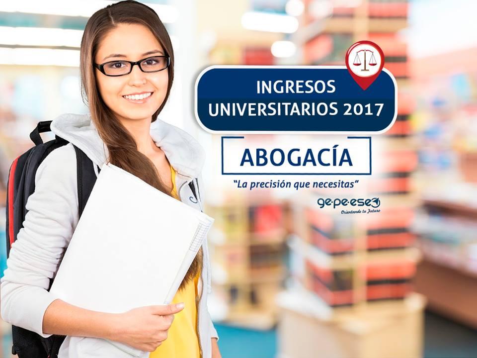 ¡Prepará tu ingreso a Abogacía 2017 en Apoyo Gepeese!