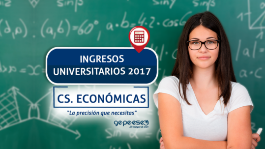 Prepará tu ingreso a Ciencias Económicas en Apoyo Gepeese